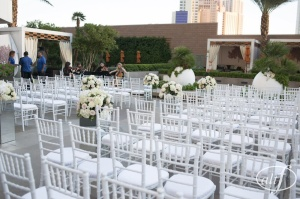 Mandarin Oriental pool ceremony